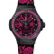 Replique Montre Hublot Big Bang Broderie Sucre Crane Fluo Hot Rose 41mm Hommes 343.CP.6590.NR.1233