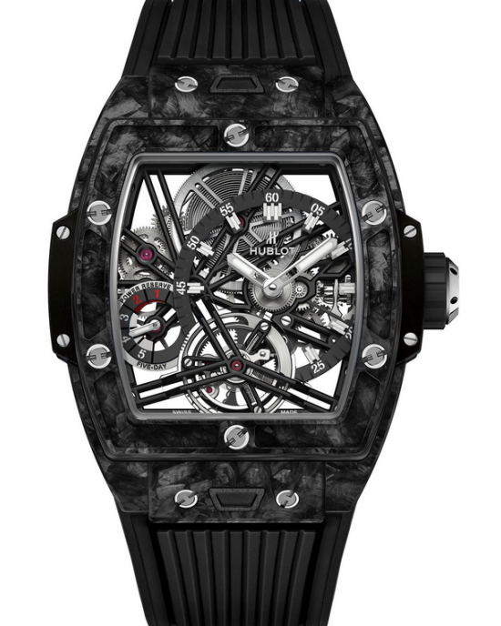 Replique Montre Hublot Spirit Of Big Bang Tourbillon Carbone Noir 645.QN.1117.RX