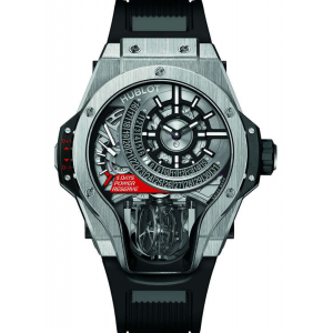 Replique Montre Hublot Masterpiece MP-09 Tourbillon Bi-Axis Titane 909.NX.1120.RX