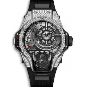 Replique Montre Hublot Masterpiece MP-09 Tourbillon Bi-Axis Titane Diamants 909.NX.1120.RX.1704