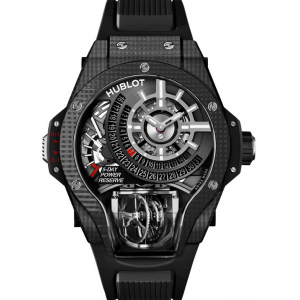 Replique Montre Hublot MasterPiece MP-09 Tourbillon Bi-Axis 3D Carbone Hommes 909.QD.1120.RX