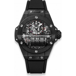 Replique Montre Hublot Big Bang MP-11 Power Reserve 14 Journees 3D Carbone 911.QD.0123.RX