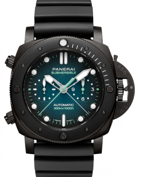 Replique Montre Panerai Luminor Submersible Chrono Guillaume Nery Edition Hommes PAM00983