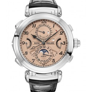 Replique Montre Patek Philippe Grandmaster Chime Only 2019 Edition Hommes 6300A-010