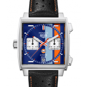 Replique Montre Tag Heuer Monaco Calibre 11 Gulf 50th Anniversaire CAW211T.FC6440