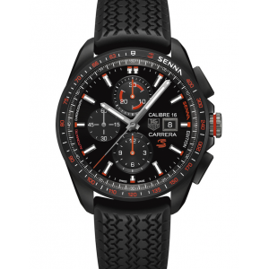 Replique Montre Tag Heuer Carrera Calibre 16 Senna Special Edition Hommes CBB2080.FT6042