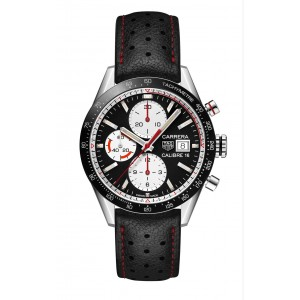 Replique Montre Tag Heuer Carrera Calibre 16 Automatique Chronographe Vintage CV201AP.FC6429