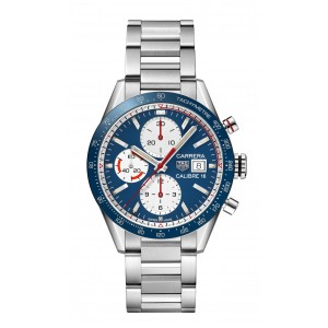 Replique Montre Tag Heuer Carrera Calibre 16 Automatique Chronographe Vintage CV201AR.BA0715